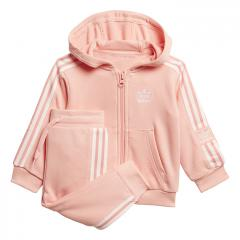 Adidas Kids Lock Up Hoodie Set Glory Pink / White