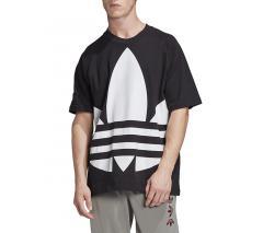 Adidas Originals Big Trefoil Boxy Tee Black
