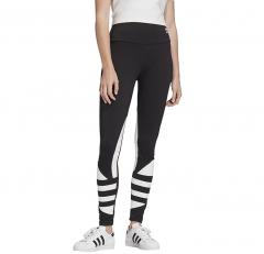 Adidas Womens Large Logo Tights Black / White