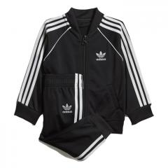 Adidas Kids SST Track Suit Black / White