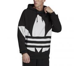 Adidas Originals Big Trefoil Hoodie Black