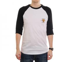 Vans Growler Raglan Tee White / Black