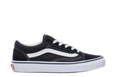 Vans Youth Old Skool Black / True White