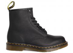 Dr Martens Womens 1460 Black Greasy