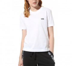 Vans Womens Junior V Boxy Tee White
