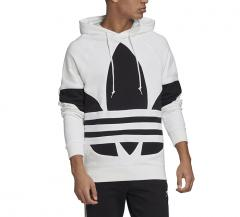 Adidas Originals Big Trefoil Hoodie White