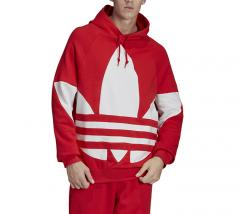 Adidas Originals Big Trefoil Hoodie Lush Red
