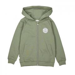 Makia Kids Esker Hooded Sweatshirt Olive