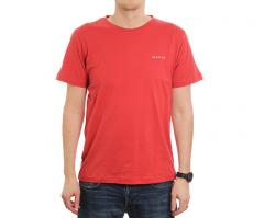 Makia Trim Backprint Tee Red