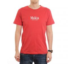 Makia Strait Tee Red