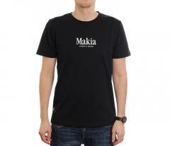 Makia Strait Tee Black
