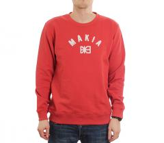Makia Brand Sweatshirt Red
