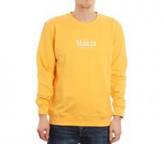 Makia Strait Sweatshirt Yellow