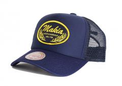 Makia Bay Trucker Cap Navy