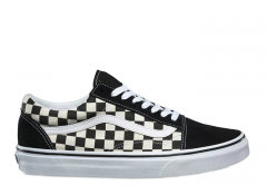 Vans Old Skool Primary Check Black / White
