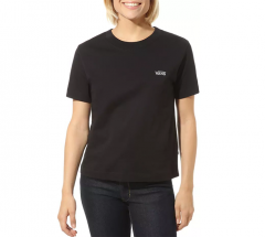 Vans Womens Junior V Boxy Tee Black