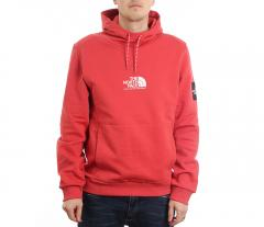 The North Face Fine Alpine Hoodie Sunbaked Red