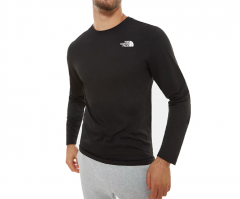 The North Face Red Box Longsleeve Tee TNF Black