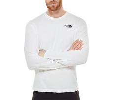 The North Face Red Box Longsleeve Tee TNF White