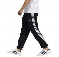 Adidas Originals 3 Stripes Wrap Sweat Pants Black / White
