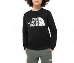The North Face Youth Drew Peak Light Crew TNF Black