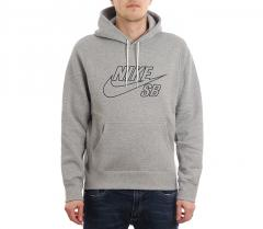 Nike SB Embroidery Hoodie Dark Grey Heather / Black