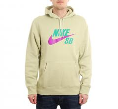 Nike SB Icon Hoodie Olive Aura / Vivid Purple