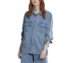Adidas Originals Womens Denim Jacket Clear Sky