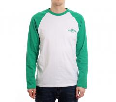 Dickies Baseball LS Tee Emerald Green