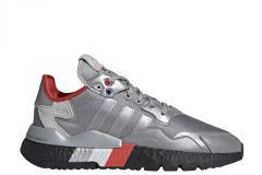 Adidas Nite Jogger Silver Metallic / Silver Metallic / Core Black