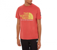 The North Face Fine Alpine 2 Tee Sunbaked Red