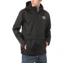 Vans Distort Type Anorak Jacket Black