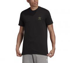 Adidas Originals Trefoil Essentials Tee Black / Camo