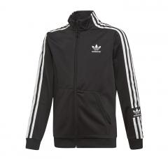 Adidas Youth Lock Up Track Jacket Black / White
