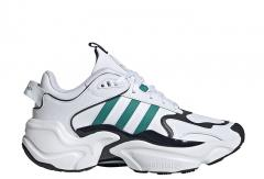 Adidas Womens Magmur Runner Cloud White / Glory Green / Legend Ink