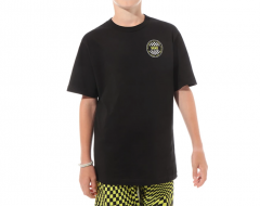 Vans Youth OG Checker Tee Black / Sulphur Spring
