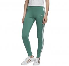 Adidas Originals Womens 3 Stripes Tights Future Hydro / White