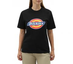 Dickies Womens Horseshoe Tee Black