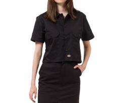 Dickies Womens Silver Grove Shirt Black