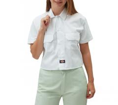 Dickies Womens Silver Grove Shirt White