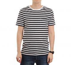 Makia Verkstad Tee Black / White