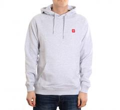 Makia Bolton Hooded Sweatshirt Light Grey