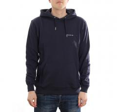 Makia Trim Hooded Sweatshirt Dark Navy