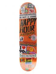 Happy Hour Sticker Job 4 Deck 8.125
