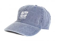 Happy Hour Pigment Dyed OG Logo Cap Blue