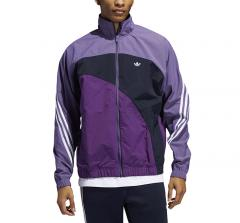 Adidas Originals Off Center Windbreaker Tech Purple / Legend Ink