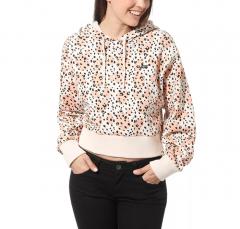 Vans Womens Leila Hurst Hoodie Leopard