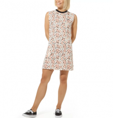 Vans Womens Leila Hurst Dress Leopard