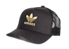 Adidas Originals Adicolor Gold Trucker Cap Black / Gold