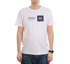 Makia State T-Shirt White